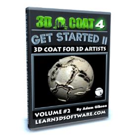 3d coat 4- volume #2-getting started ii