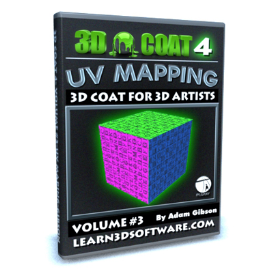 3d coat 4- volume #3-uv mapping i
