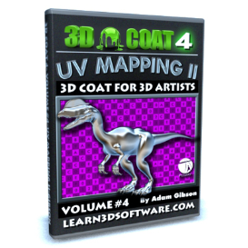 3d coat 4- volume #4-uv mapping ii