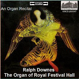 ralph downes plays the organ of royal festival hall, london
