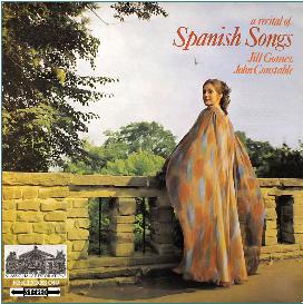 a recital of spanish songs - jill gomez, soprano; john constable, piano