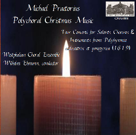 michael praetorius: polychoral christmas music - four concerti for soloists, choruses & instruments from polyhymnia caduceatrix et panegyrica (1619)