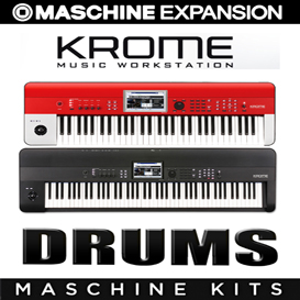 krome drums  for maschine