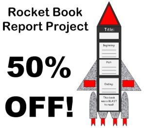 50% Off Rocket Book Report Projects | Documents and Forms | Templates