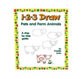 1-2-3 draw pets and farm animals (pdf)