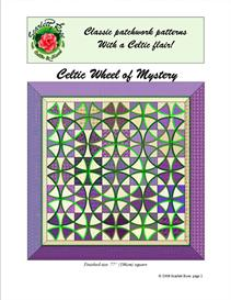 Celtic Wheel of Mystery pattern | Crafting | Sewing | Quilting
