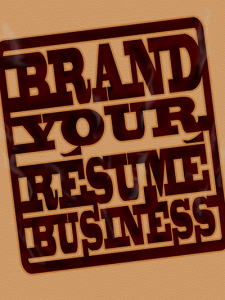 brand your resume business