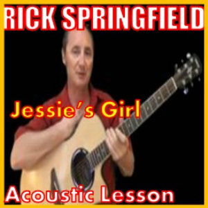 learn to play jessie's girl by rick springfield