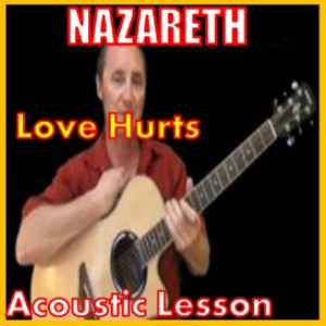 learn to play love hurts by nazareth