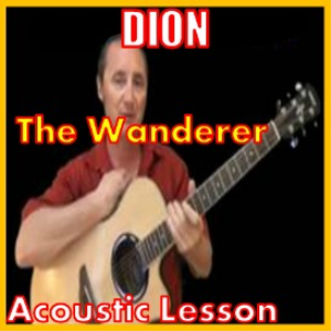 learn to play the wanderer by dion