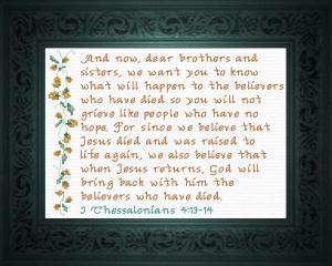 When Jesus Returns | Crafting | Cross-Stitch | Religious