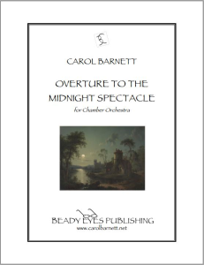 Overture to the Midnight Spectacle - Score (PDF) | Music | Classical