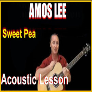 Learn to play Sweet Pea by Amos Lee | Movies and Videos | Educational
