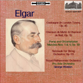 elgar: orchestral works - royal philharmonic orchestra/pro arte orchestra /george weldon