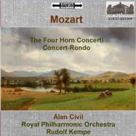 mozart: the four horn concerti; concert-rondo, k.371 - alan civil, french horn; royal philharmonic orchestra/rudolf kempe