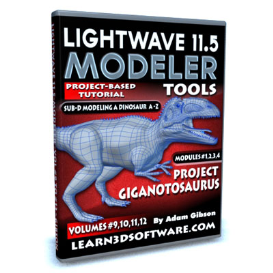 11.5 modeler tools- vol. #9 to 12-project giganatosaurus