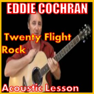 learn to play twenty flight rock by eddie cochran