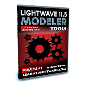 lightwave 11.5 modeler volume #1