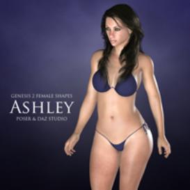 genesis 2 female shapes: ashley
