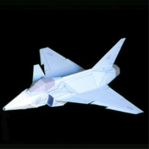 Paper JAS-39 Gripen | Crafting | Paper Crafting | Paper Models
