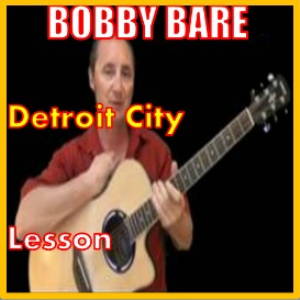 learn to play detroit city by bobby bare