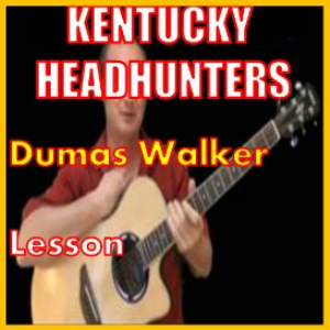 learn to play dumas walker by the kentucky headhunters