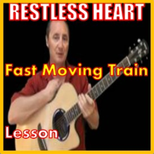 learn to play fast moving train by restless heart