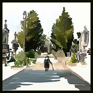 the graveyard soundtrack