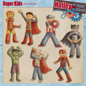 super kids elements