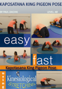 kaposana king pigeon pose