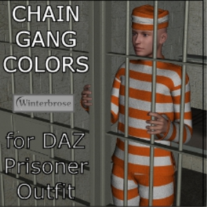 chain gang colors for genesis prisoner outfit