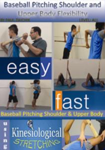 baseball - shoulder upper body flexibility