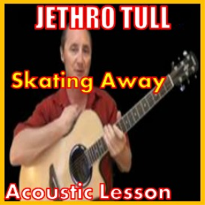 learn to play skating away by jethro tull