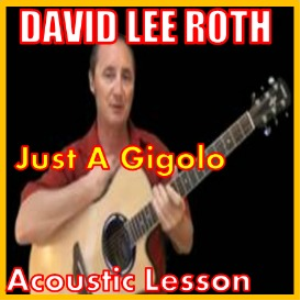 learn to play just a gigolo by david lee roth