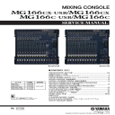 Yamaha MG166cx MG166c USB Mixing Console Service Manual Download | eBooks | Technical