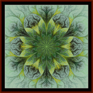 Fractal 423 cross stitch pattern by Cross Stitch Collectibles | Crafting | Cross-Stitch | Other