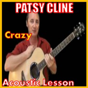learn to play crazy by patsy cline