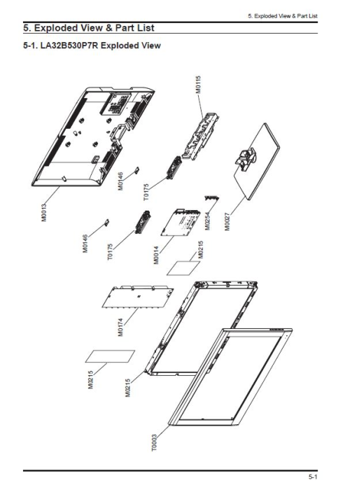 First Additional product image for - Samsung LA32B530P7R LA37B530P7R LA40B530P7R LA46B530P7RTelevision Service Manual Download