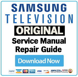 samsung pn50b400 pn50b400p3d television service manual download rh store payloadz com television service manuals free download colour television service manual