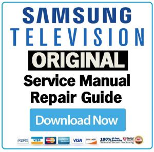Samsung Pn64e8000 Pn64e8000gf Television Service Manual Download