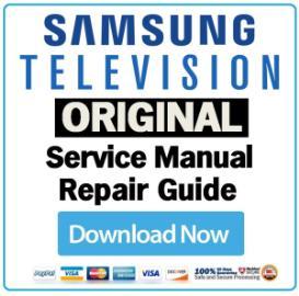 Samsung PS50A417C2D PS-50A417C2D Television Service Manual Download | eBooks | Technical