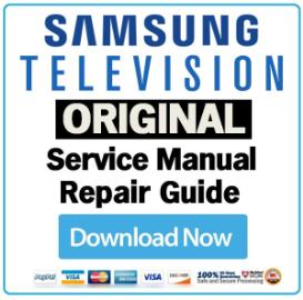 Samsung PS50A558S1F PS-50A558S1F Television Service Manual Download | eBooks | Technical