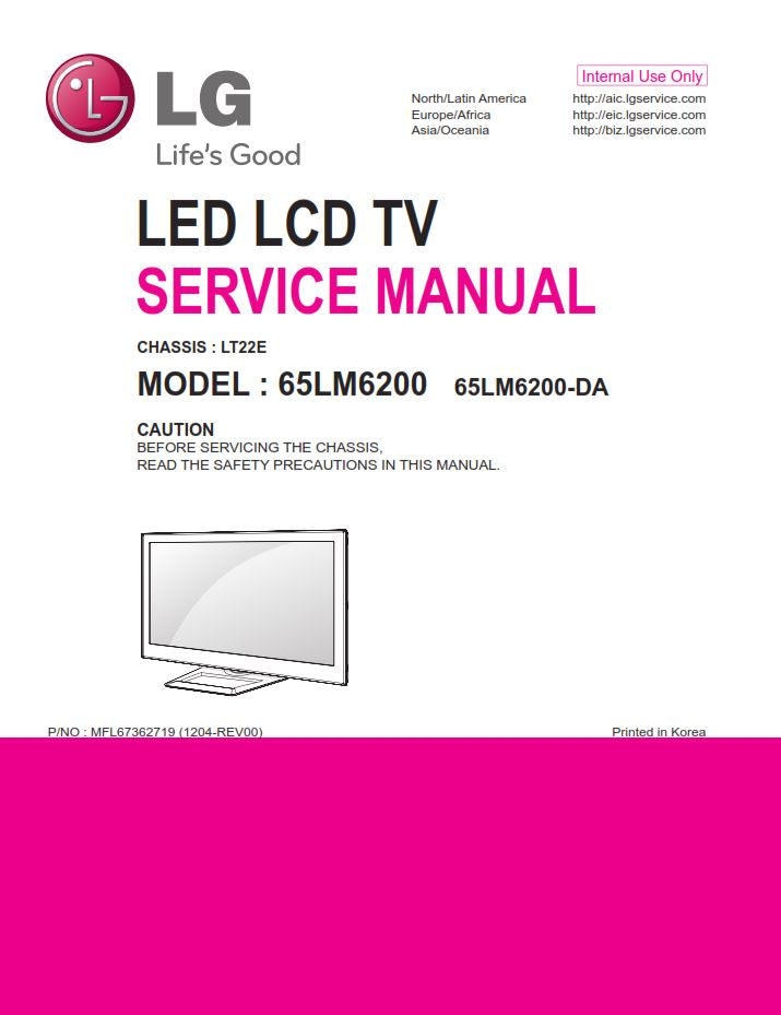 LG 65LM6200 TV Driver for Mac Download