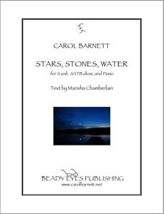 Stars, Stones, Water (PDF) | Music | Classical