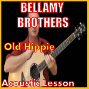 learn to play old hippie by the bellamy brothers