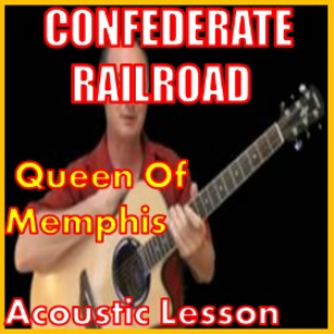 learn to play queen of memphis by confederate railroad
