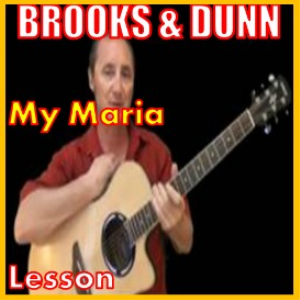 learn to play my maria by brooks and dunn
