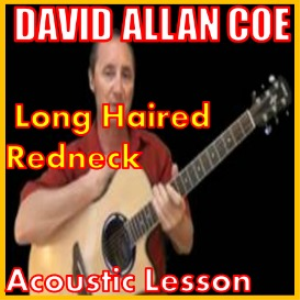 learn to play long haired redneck by david allan coe