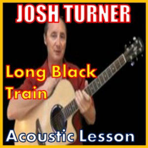 learn to play long black train by josh turner