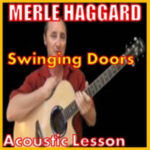 learn to play swinging doors by merle haggard